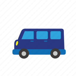 bus, car, moter, transport, truck, van, vehicle icon