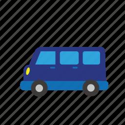 bus, car, moter, transport, truck, van, vehicle icon