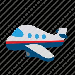 areo, bus, car, cargo, flight, plane, transport icon