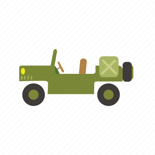 bus, car, jeep, transport, truck, vehicle icon