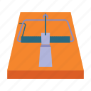 equipment, fixture, hunting, trap icon