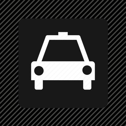 car, police, taxi, transportation icon