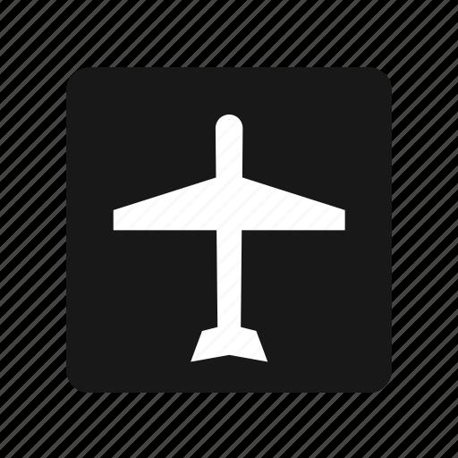 air plane, fly, transportation icon