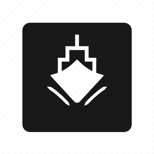 boat, ferry, ship, transportation, water icon