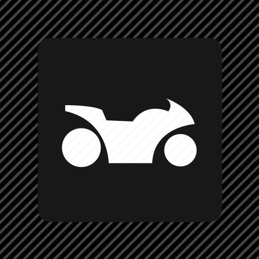 bike, motor, spot, transportation icon