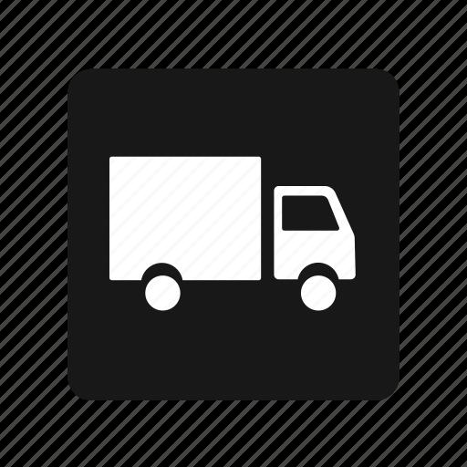 box, distribution, expedition, transportation, truck icon