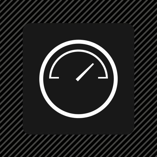 spedometer, speed, tacometer, transportation icon
