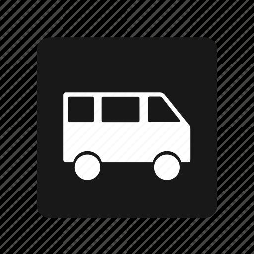 car, transportation, van icon