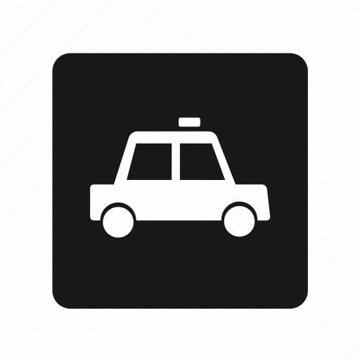 car, police, sedan, taxi, transportation icon