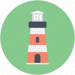beacon, guidepost, lighthouse, pointer, signal icon