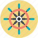 direction, ship steering, ship steering wheel, ship wheel, travel symbol icon