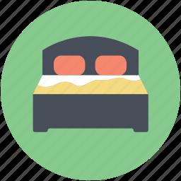 bedroom, bedroom furniture, furniture, sleeping, sleeping bed icon