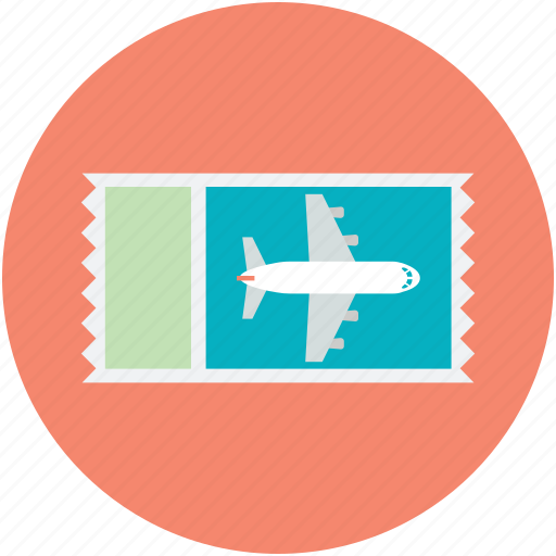 Air Ticket Airline Boarding Pass Flight Plane Icon
