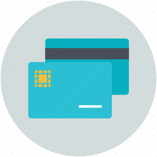 atm card, credit card, debit card, plastic money, smart card, visa card icon