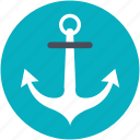 anchor, boat anchor, marine anchor, sea, ship anchor