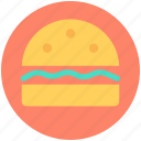 burger, cheeseburger, fast food, hamburger, junk food icon