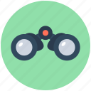 binocular, field glass, magnifying glass, search, spyglass icon