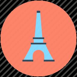 eiffel tower, famous place, france monument, landmark, paris monument icon