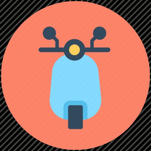 motorscooter, scooter, transport, travel, vespa icon
