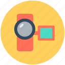 camcorder, device, video camera, video recording icon