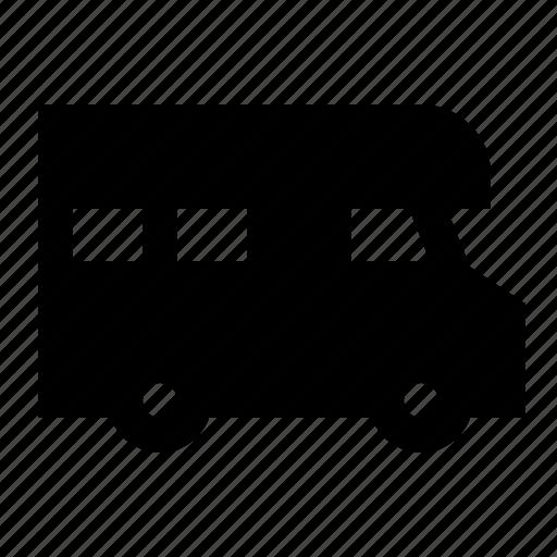 camping, caravan, travel, vacation, vehicle icon