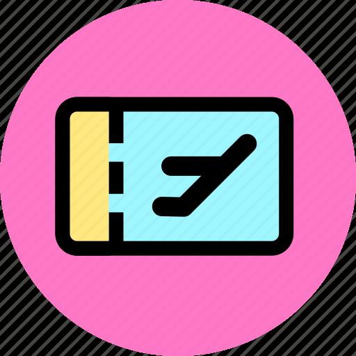 pass, ticket, tickets, tourism, travel, trip icon