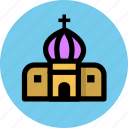 building, church, religion, religious, travel icon