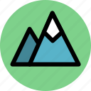 journey, mountain, mountaineering, mountains, travel, trip icon