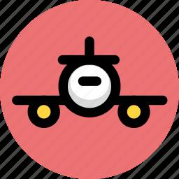airplane, flight, scheduled flight, tourism, travel icon