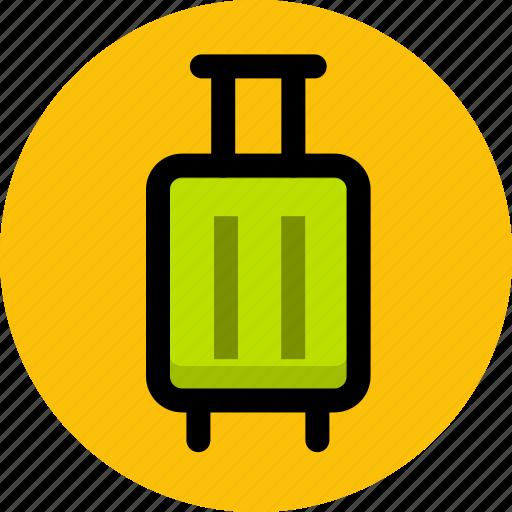 briefcase, business, business trip, suitcase, tourism, travel icon
