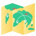 map, world, worldmap icon