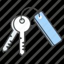 holiday, home, hotel, key, keychain, travel, vacation icon