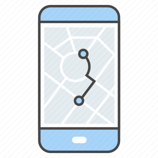 app, destination, map, navigation, tourist, travel, traveler icon