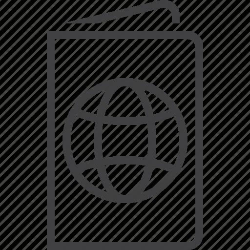 id, pass, passport icon