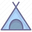 adventure, bivouac, camp, camping, encampment, outdoors, tent icon