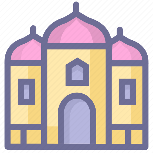 attraction, attractions, castle, palace icon