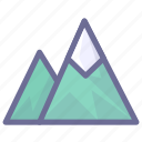 climbing, journey, mountains, tour, tourism, travel, trip icon