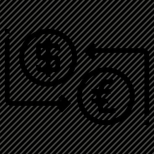Cash, exchange, money, travel icon - Download on Iconfinder
