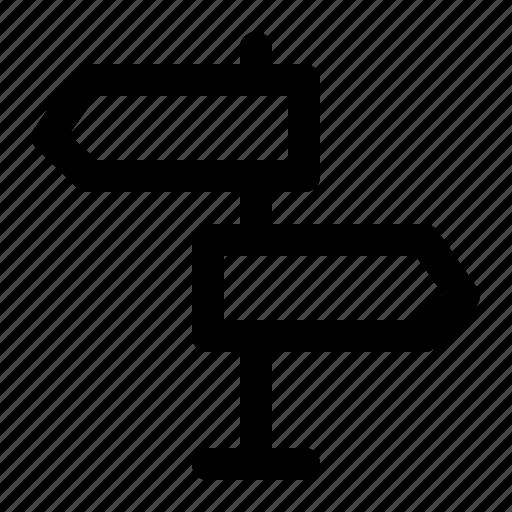 directiono, holiday, sign, signage, tourism, travel, vacation icon