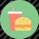 burger, fastfood, food, juice, junk food