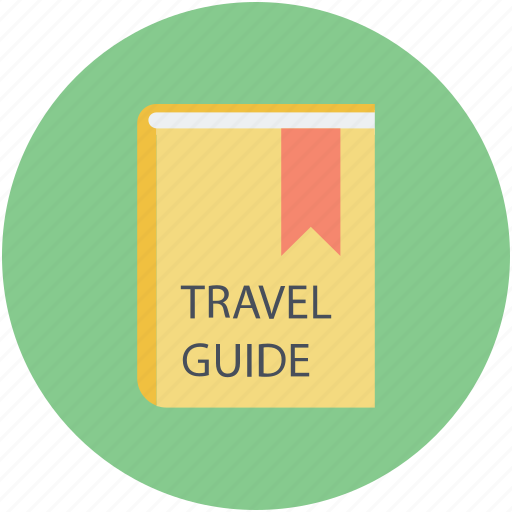 cover book, information, research, travel, travel guide icon