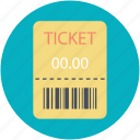 entry ticket, event ticket, event pass, museum ticket, pass, ticket