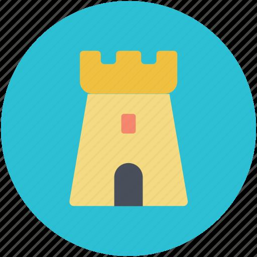 building, castle, historic building, monument, tower icon