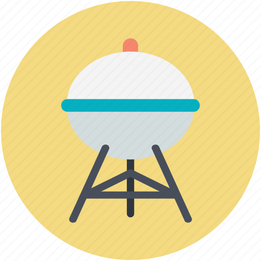 bbq, charcoal grill, garden cooking, outdoor cooking, roasted food icon