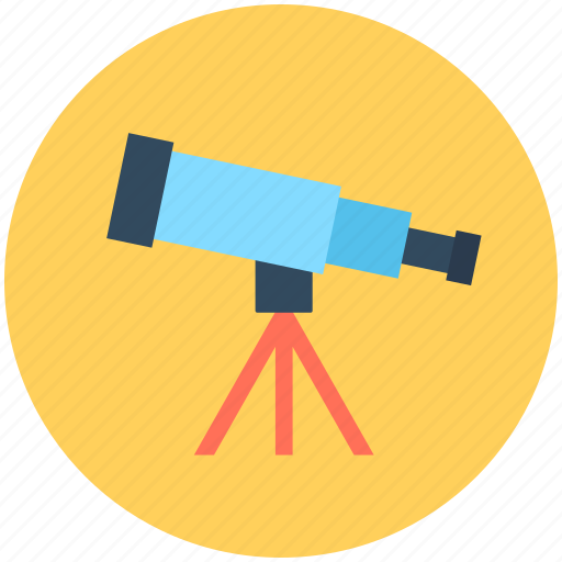 Astronomy, planetarium, spyglass, telescope, vision icon - Download on Iconfinder