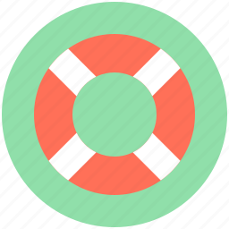 life belt, life buoy, life ring, ring buoy, safety equipment icon