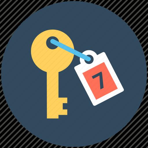 key, lock, retro key, roomkey, safety icon