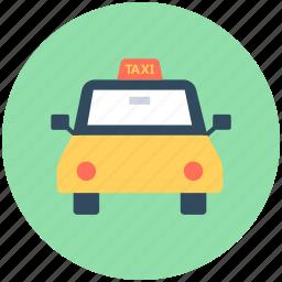 cab, cab van, taxi, taxi van, vehicle icon
