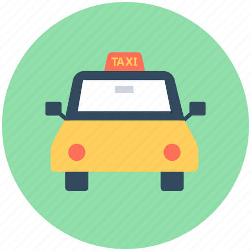 cab, cab van, taxi, taxi van, vehicle icon