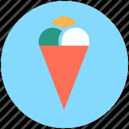 cake cone, cone, cup cone, dessert, ice cone, ice cream icon